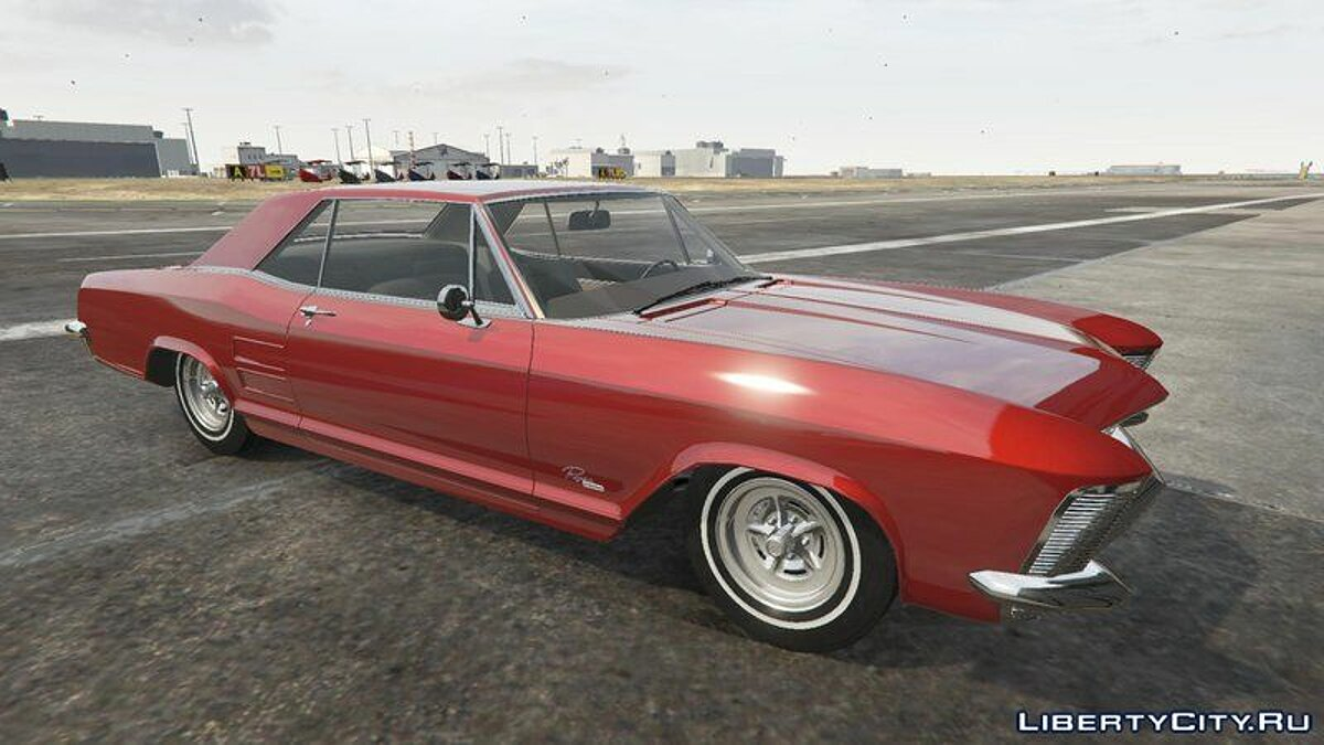 Машина Buick Buick Riviera 1963 [Add-On] для GTA 5