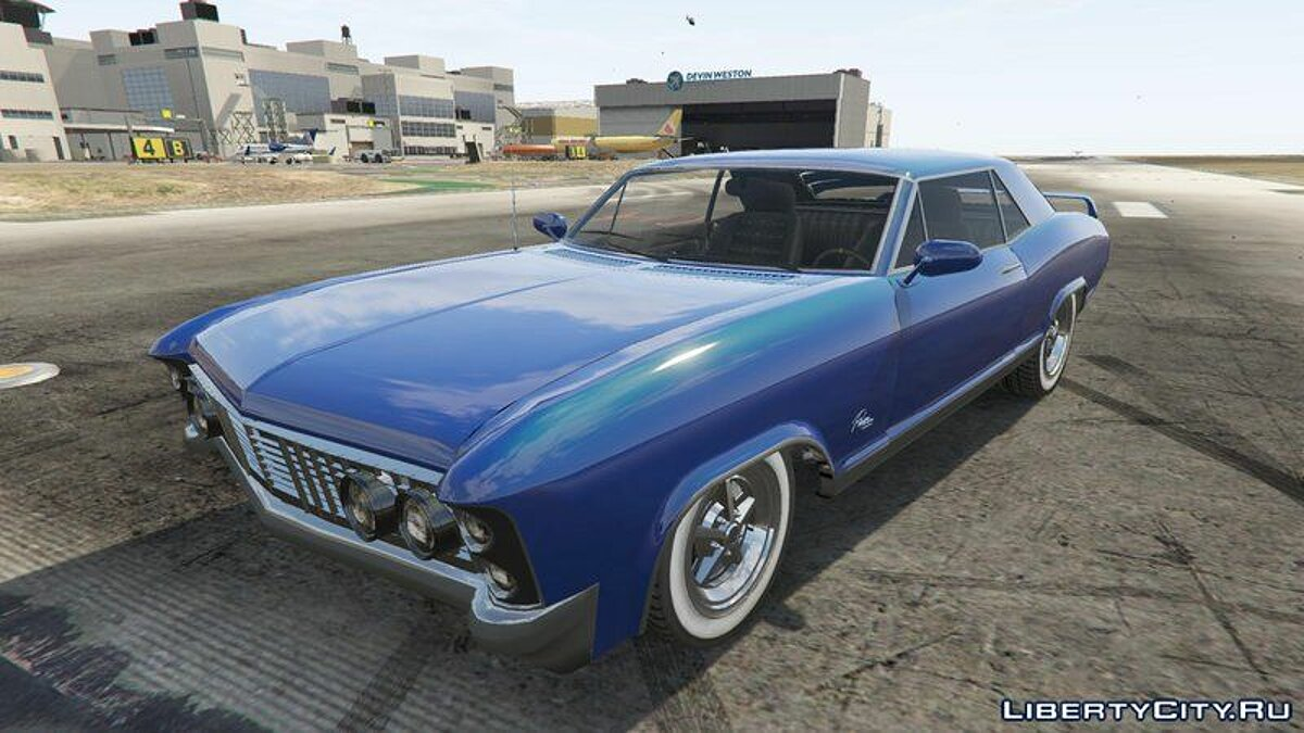 Машина Buick Buick Riviera 1968 [Add-On/Tuning] для GTA 5