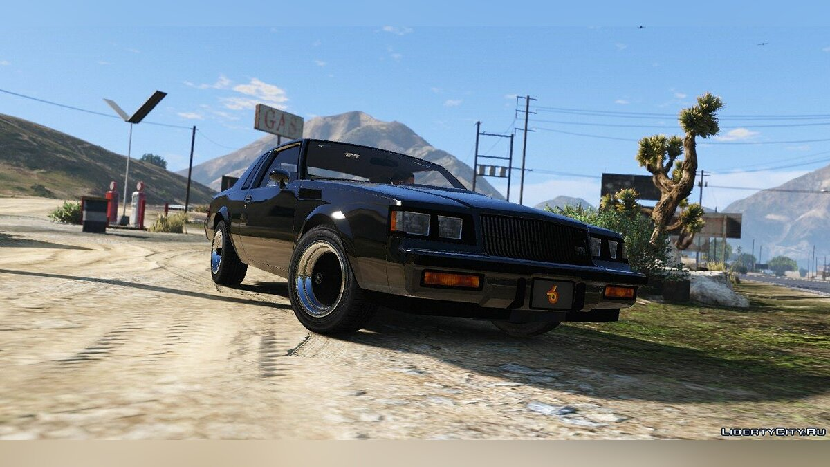 ��ашина Buick 1987 Buick GNX [Add-On / Replace] 1.4 для GTA 5