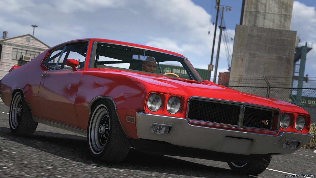 Машина Buick 1970 Buick GSX [Add-on | Tuning | Livery] 1.0 для GTA 5