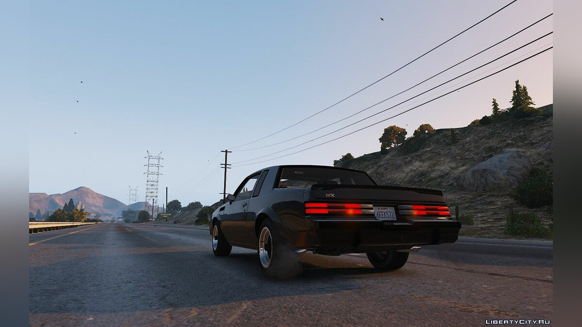 ��ашина Buick 1987 Buick GNX [Add-On / Replace] 1.2.1 для GTA 5