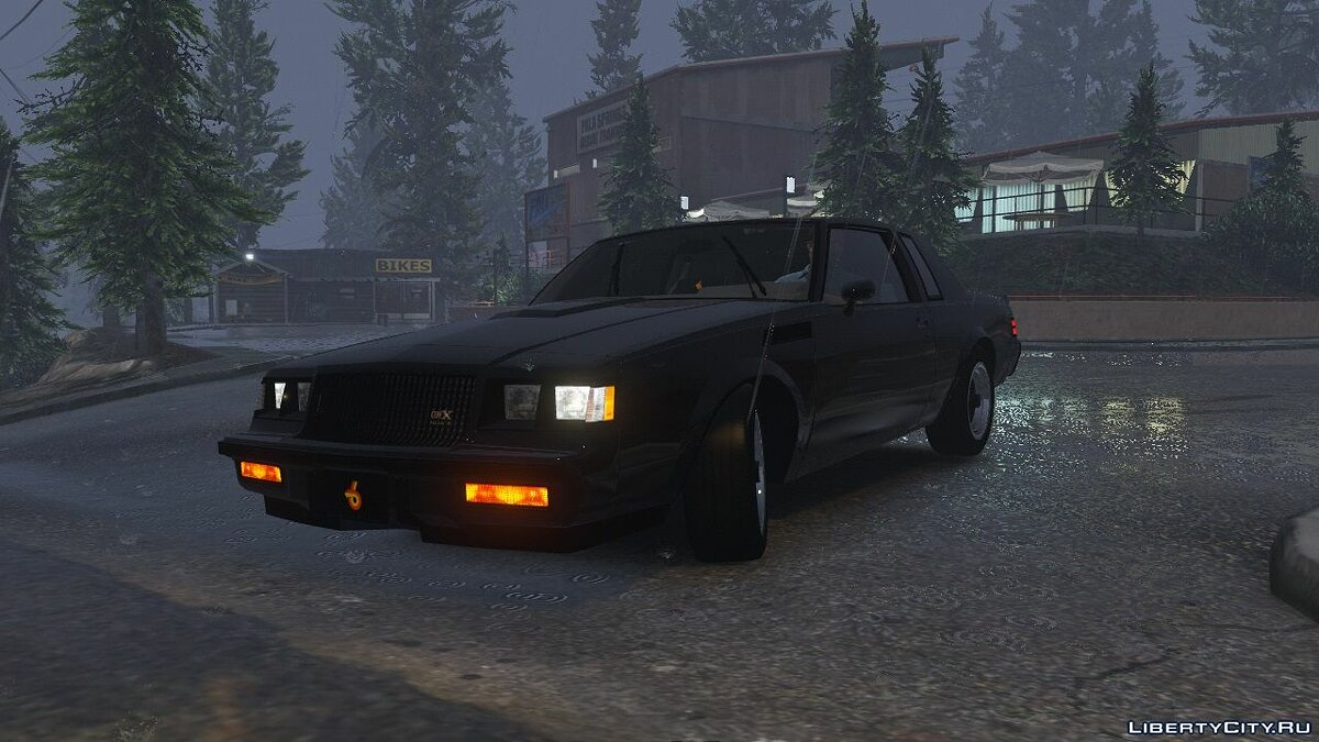 Машина Buick 1987 Buick GNX [Add-On / Replace] 1.6 для GTA 5