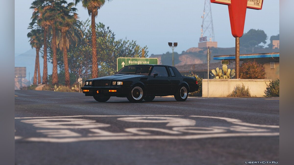 ��ашина Buick 1987 Buick GNX [Add-On / Replace] 1.6 для GTA 5