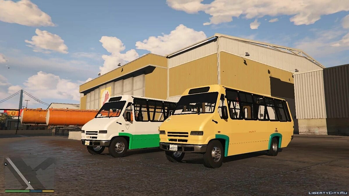 Автобус Microbus AYCO Prisma lV [add on | tuning | template | UNLOCK] beta для GTA 5