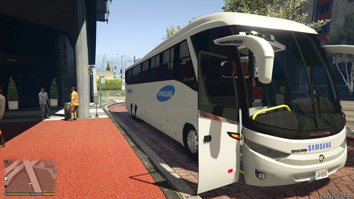 Автобус SAMSUNG electronics co.Ltd Shuttle bus 1.0 для GTA 5
