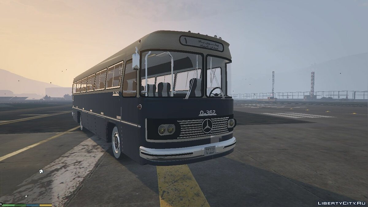 Автобус Mercedes Benz O362 Bus [Add-On / Replace] для GTA 5