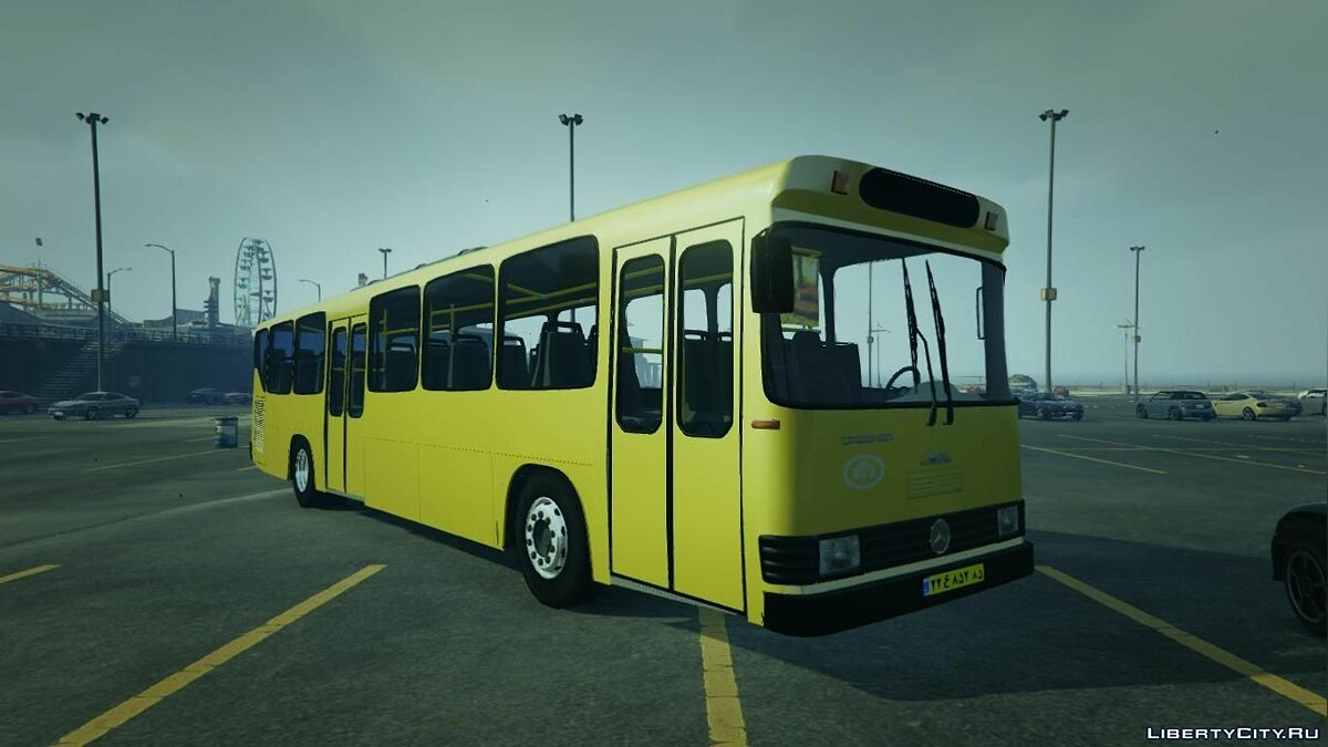 Mercedes-Benz Bus 1.0 для GTA 5