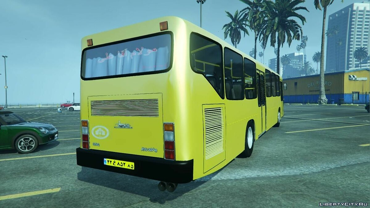 Mercedes-Benz Bus 1.0 для GTA 5 - скриншот #4