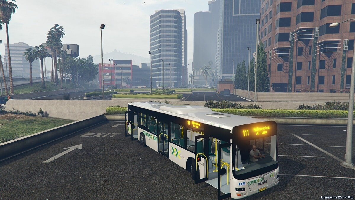 Connexxion Bus Grijs (Voorne Putten) Dutch 1 для GTA 5