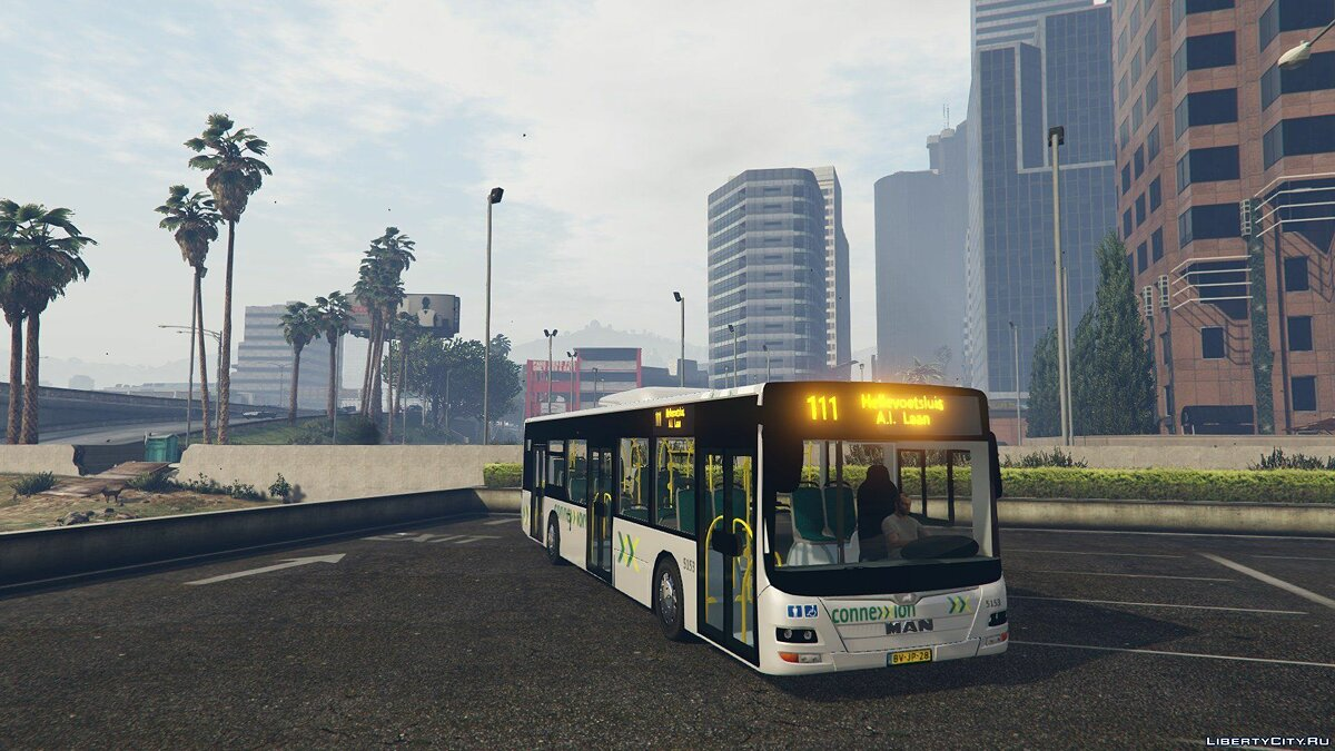 Connexxion Bus Grijs (Voorne Putten) Dutch 1 для GTA 5 - скриншот #2