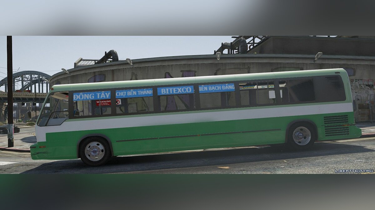 Автобус Saigon Bus | Vietnam 0.1 для GTA 5
