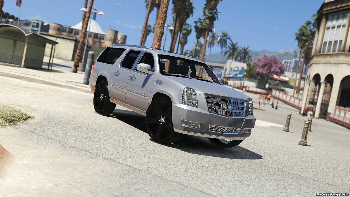 2012 Cadillac Escalade Platinum ESV [Replace] 1.0 для GTA 5