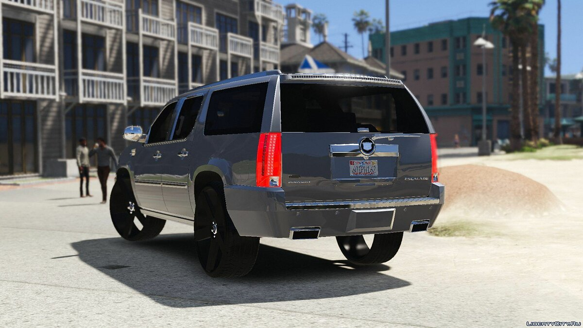2012 Cadillac Escalade Platinum ESV [Replace] 1.0 для GTA 5 - скриншот #4