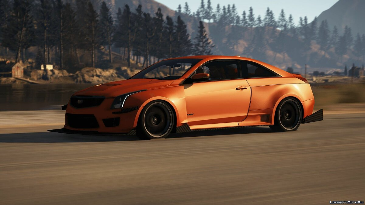 Машина Cadillac 2016 Cadillac ATS-V Forza Edition [Add-On / OIV / Animated Engine / Livery] 1.0 для GTA 5