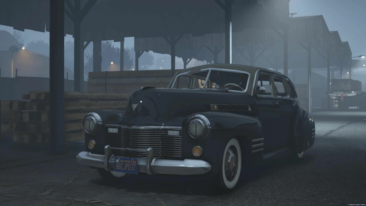 Машина Cadillac 1941 Cadillac Series Sixty One [Add-On | LODs] 1.0 для GTA 5