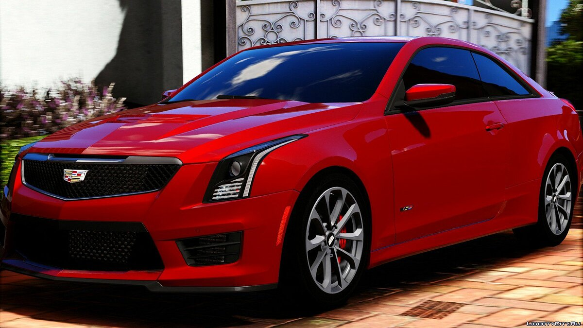 Машина Cadillac 2016 Cadillac ATS-V Coupe [Add-On / Replace] для GTA 5