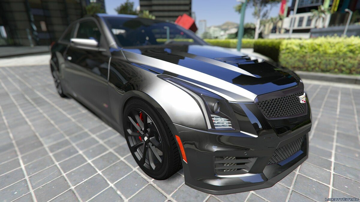 2016 Cadillac ATS-V Coupe [Add-On / Replace] для GTA 5 - скриншот #6