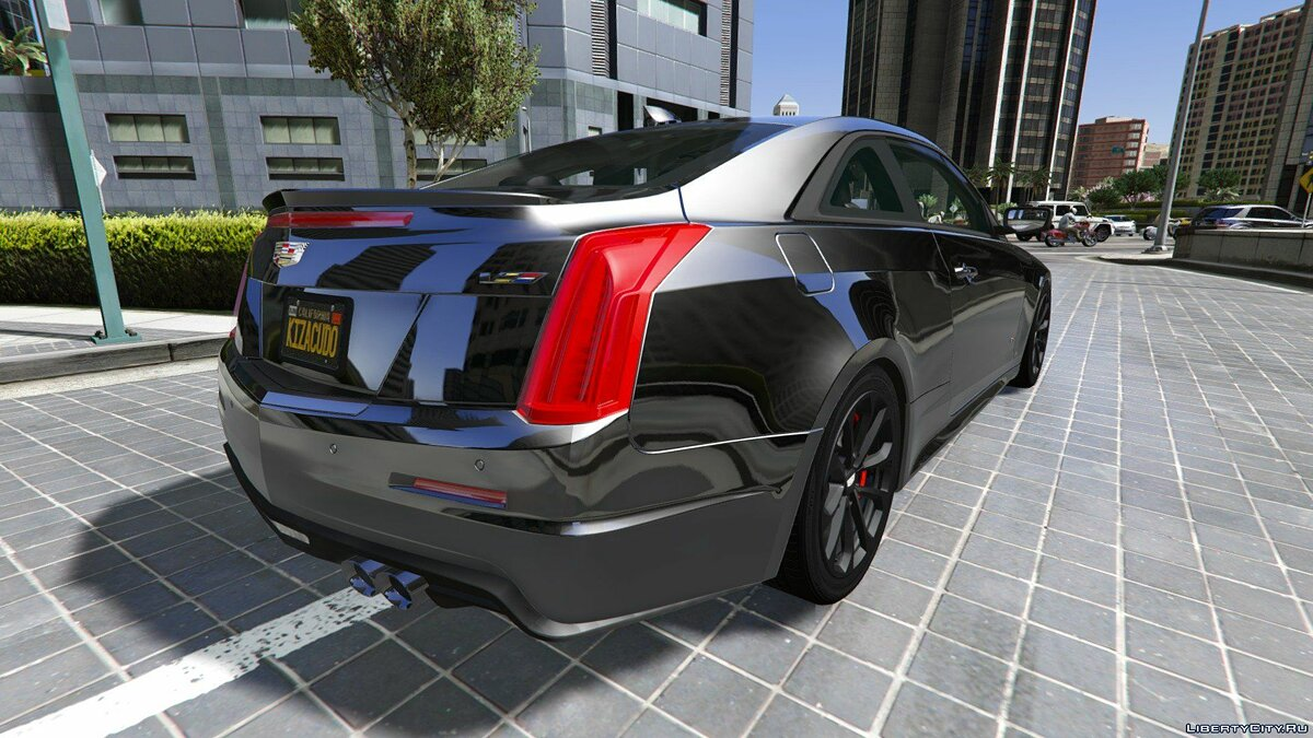 2016 Cadillac ATS-V Coupe [Add-On / Replace] для GTA 5 - скриншот #7