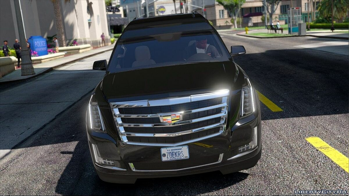 "Cadillac Escalade ""President One"" Limosine [FINAL] для GTA 5 - скриншот #2"