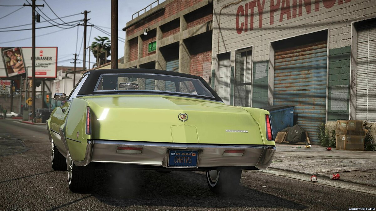 Машина Cadillac 1968 Cadillac Fleetwood Eldorado [Add-On | LODs] 1.1 для GTA 5