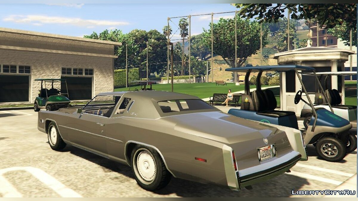 1978 Cadillac Eldorado [Add-On / Replace] 1.0 для GTA 5 - скриншот #3