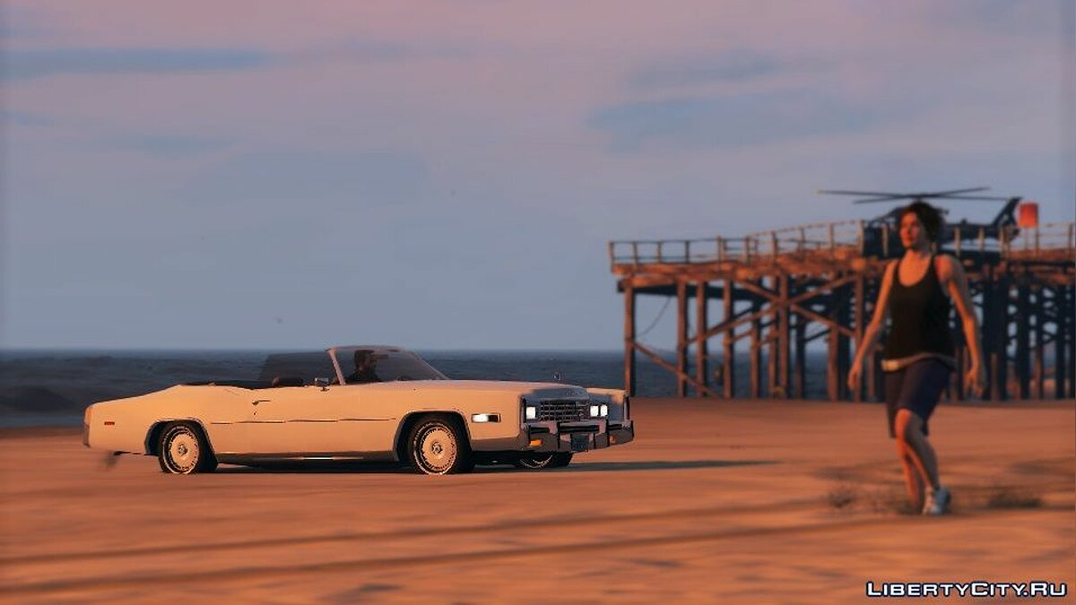 1978 Cadillac Eldorado [Add-On / Replace] 1.0 для GTA 5 - скриншот #4