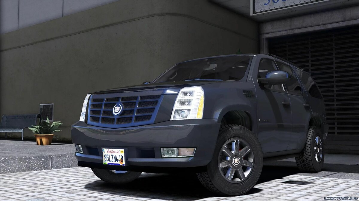 Машина Cadillac 2007 Cadillac Escalade [Add-On/Replace | Template | LODS] 2.0 для GTA 5