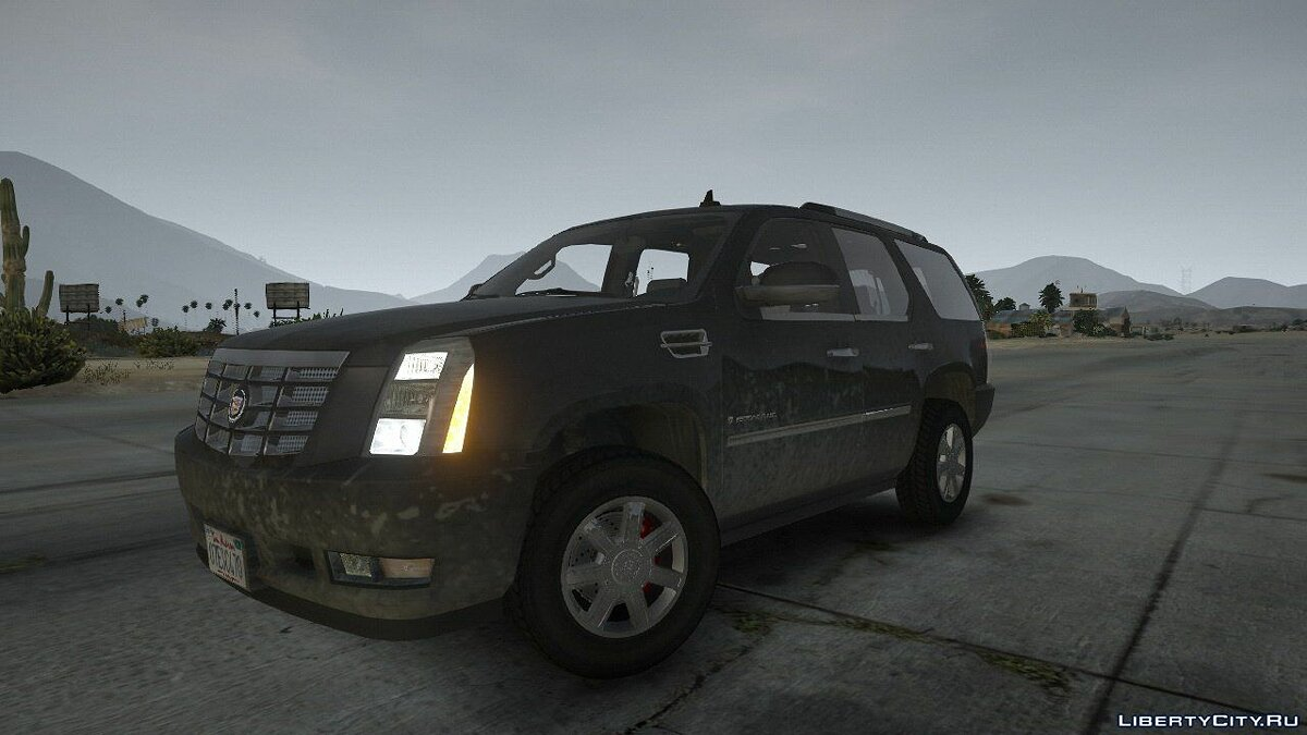 2007 Cadillac Escalade [Template | HQ Engine] 1.01 для GTA 5