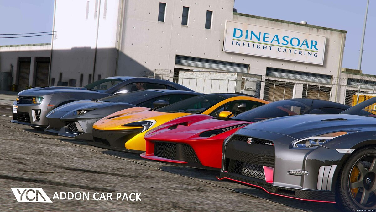 YCA Addon Car Pack 1.01 для GTA 5 - скриншот #2