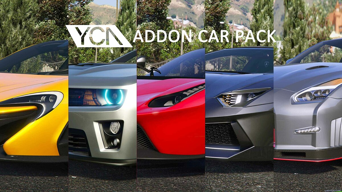 YCA Addon Car Pack 1.01 для GTA 5 - скриншот #3
