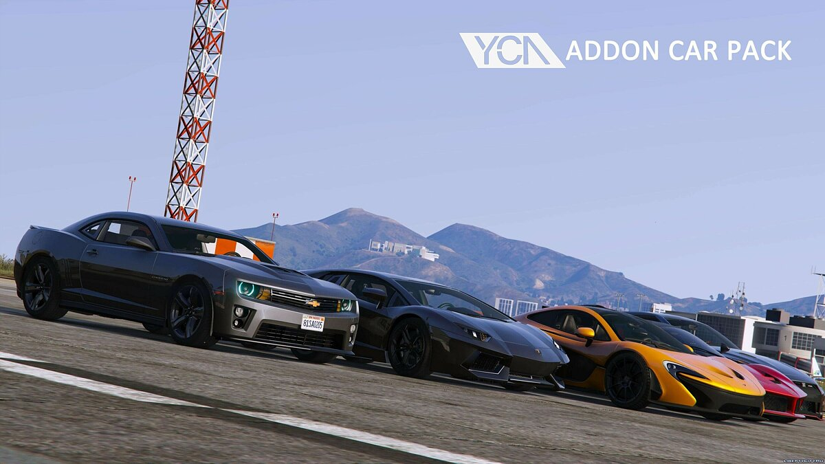 YCA Addon Car Pack 1.01 для GTA 5 - скриншот #8