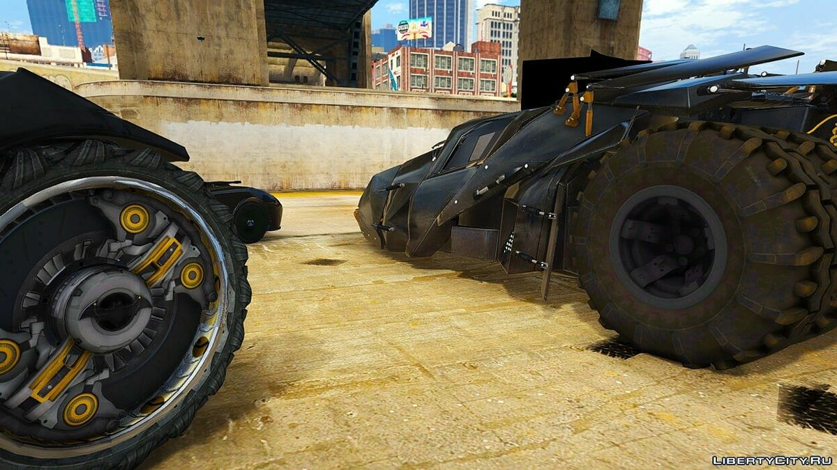 Batman Vehicles Add-On Pack для GTA 5 - скриншот #2