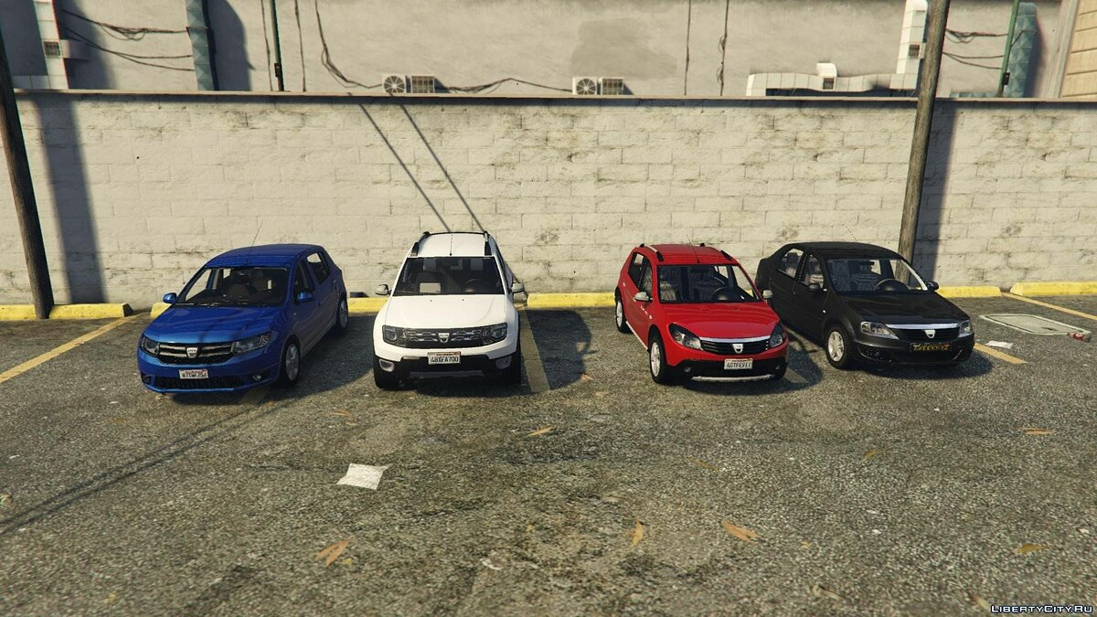 Dacia Add-On Pack 1.0 для GTA 5