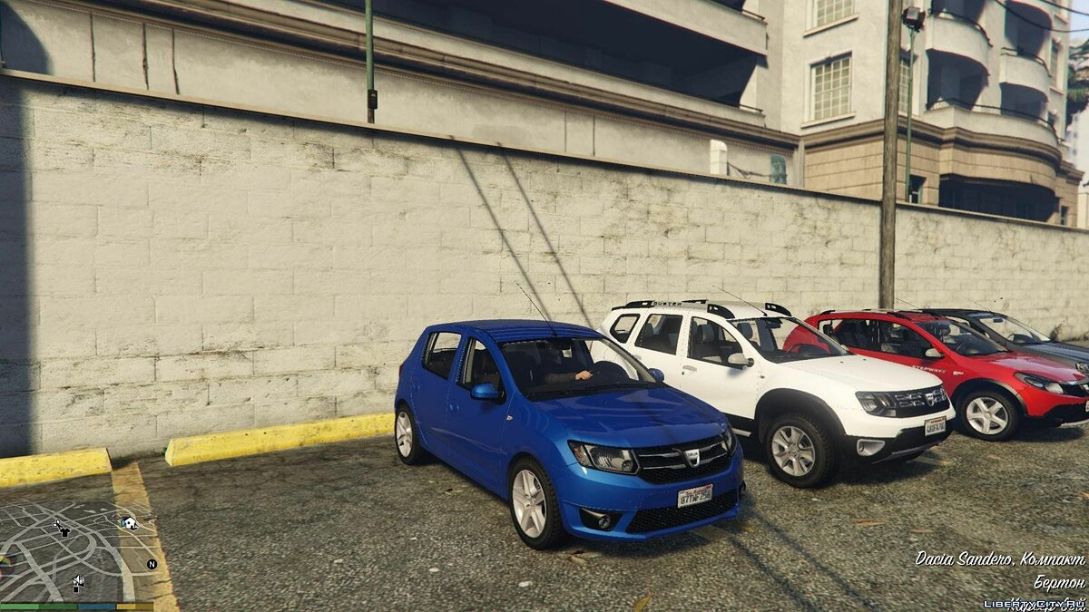Dacia Add-On Pack 1.0 для GTA 5 - скриншот #2