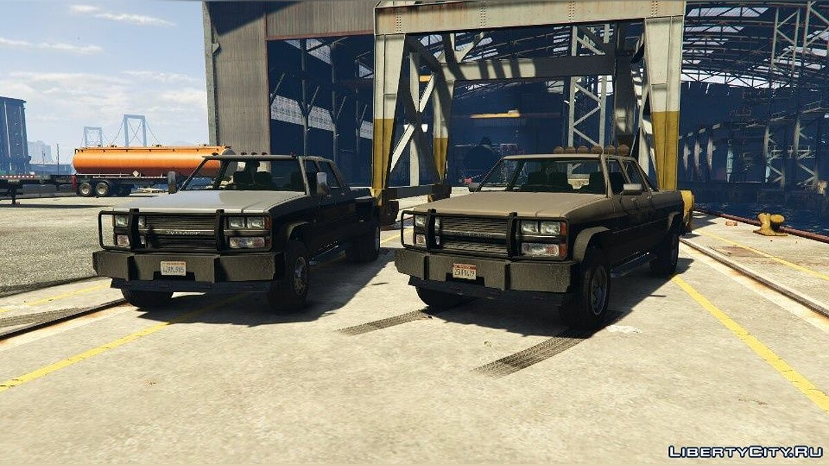Сборник машин Declasse Yosemite Pack (Dually & Non-Dually) 1.1 для GTA 5