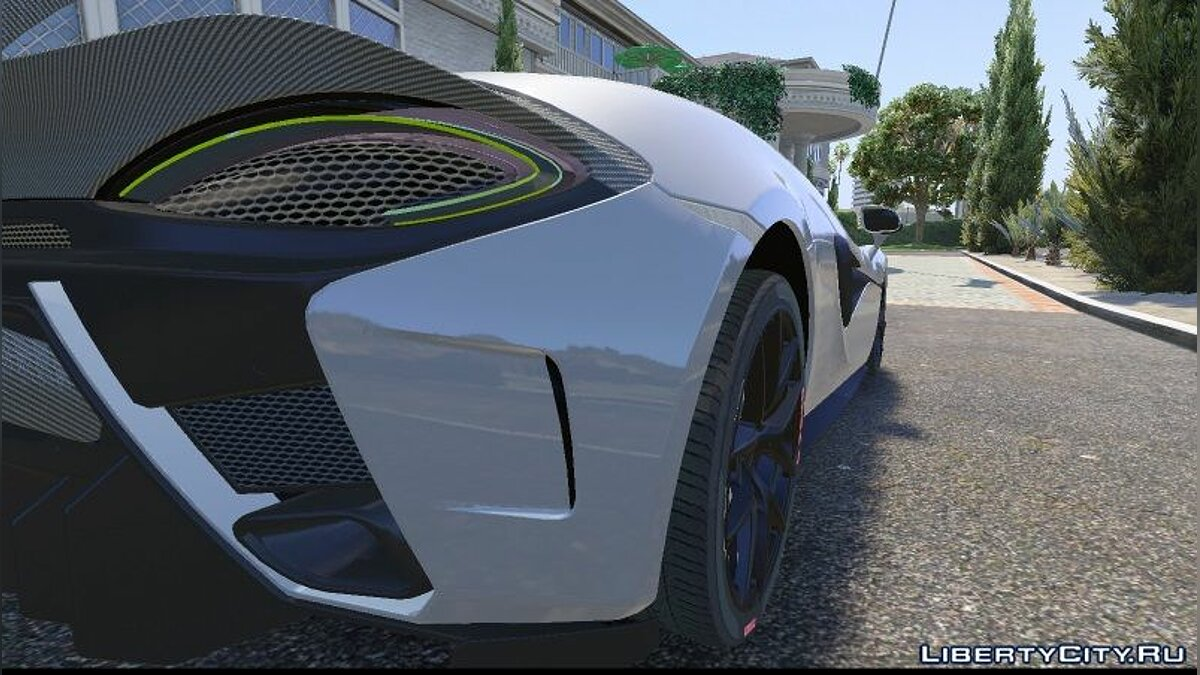McLaren 570s Vorsteiner 2016/17 [Replace | Unlocked] [BETA] для GTA 5 - скриншот #4
