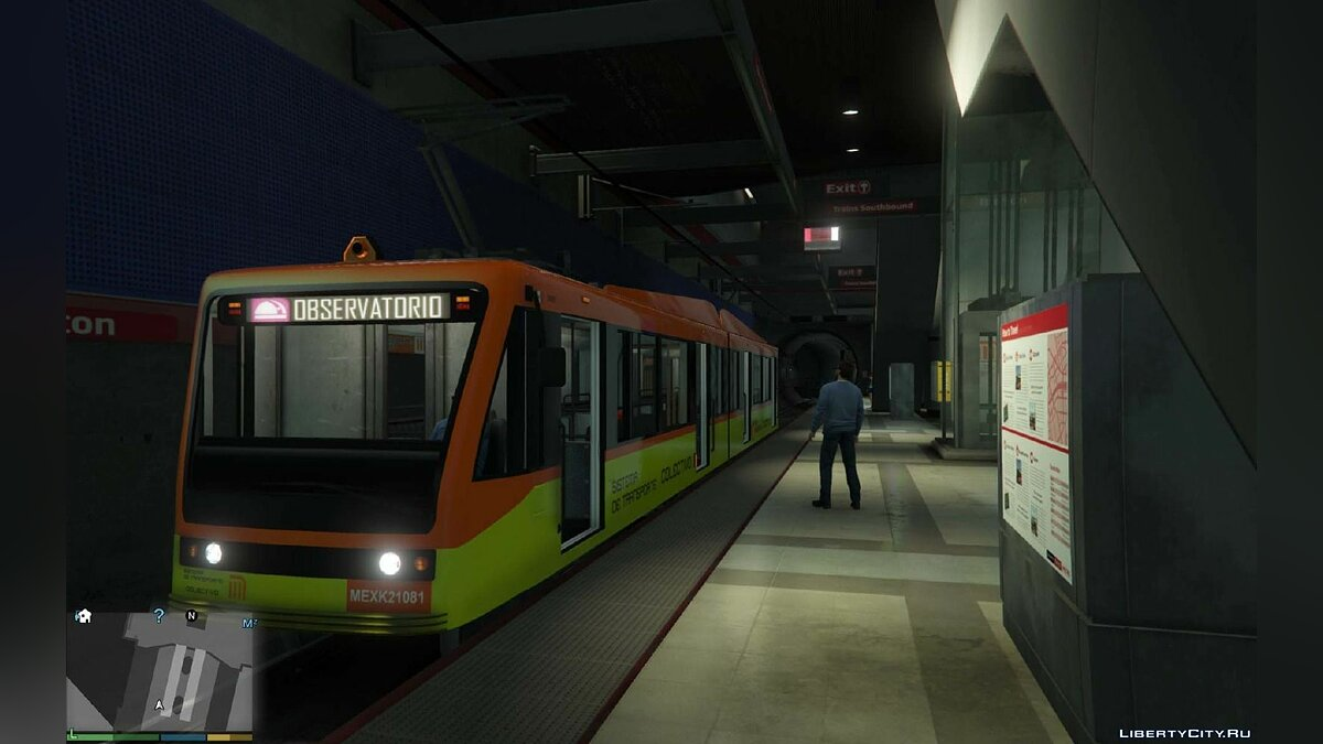 Metro from Mexico City для GTA 5