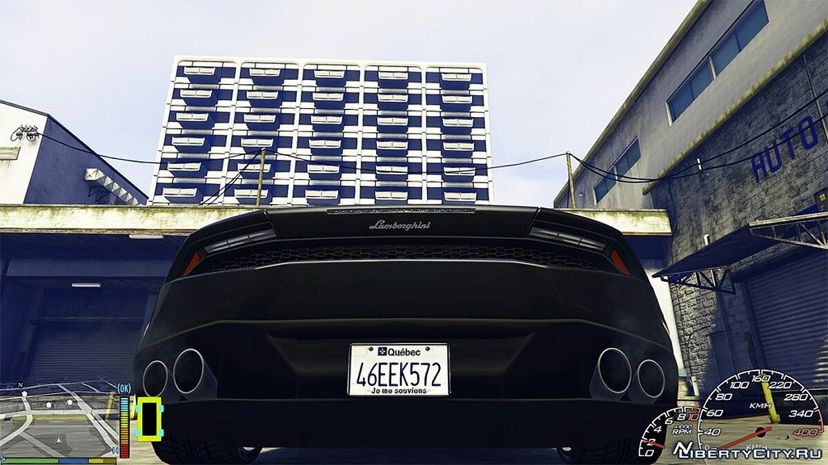 ��екстура машины Quebec License Plate для GTA 5