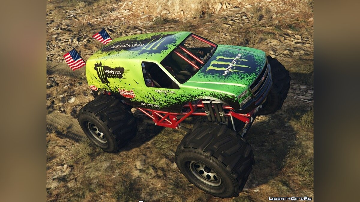 Monster Energy - Monster Truck для GTA 5