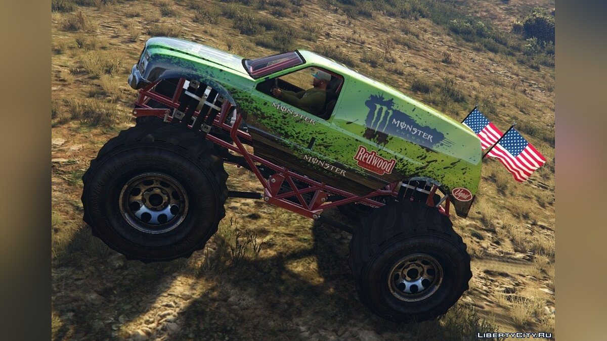 Monster Energy - Monster Truck для GTA 5 - скриншот #2