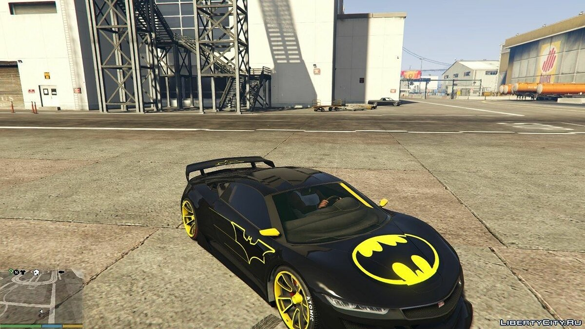 Batman Jester Liveries для GTA 5 - Картинка #8
