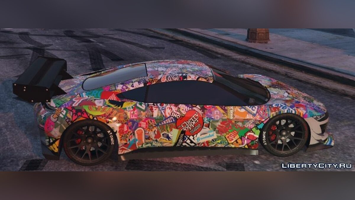 Stickerbomb Jester для GTA 5