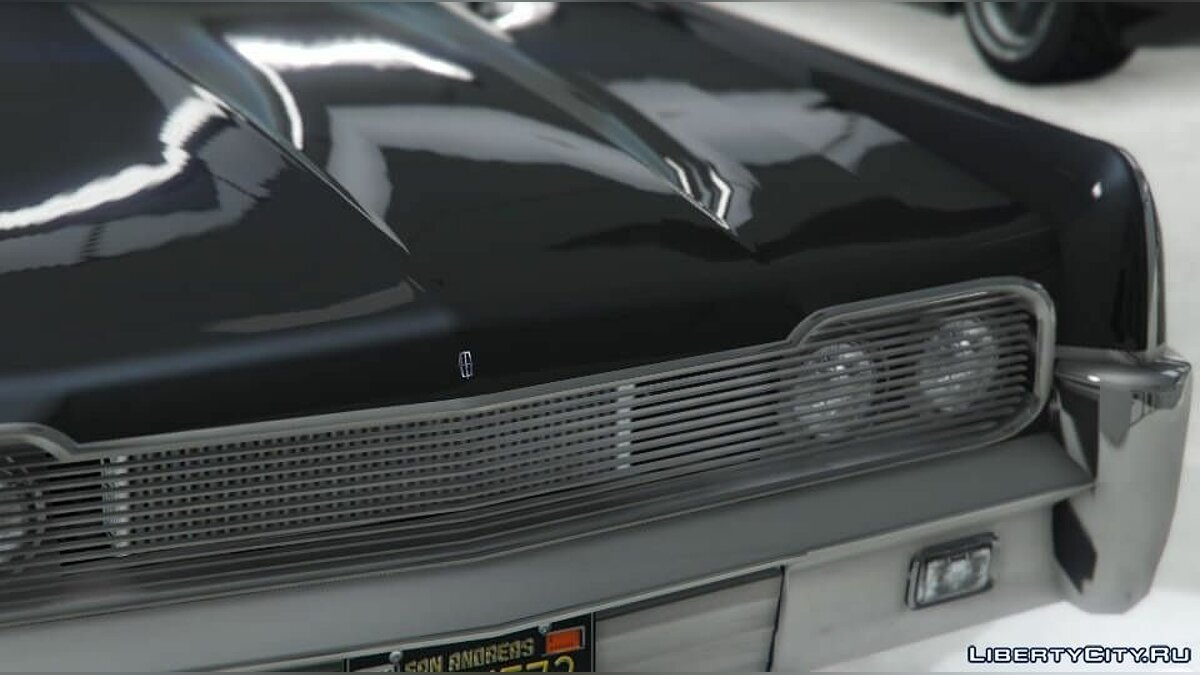 Текстура машины HD Badge for Vapid Chino (Lincoln Continental) для GTA 5