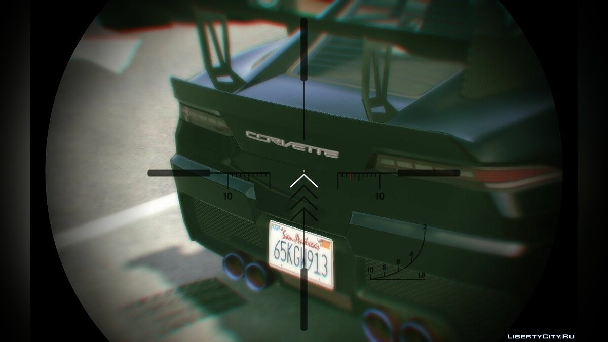 Corvette C7 Logo for Conquette для GTA 5