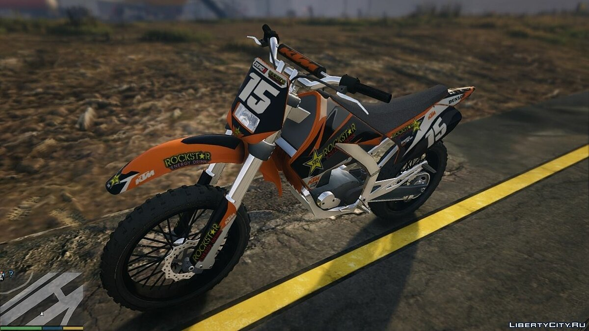 Sanchez KTM Rockstar Kit для GTA 5