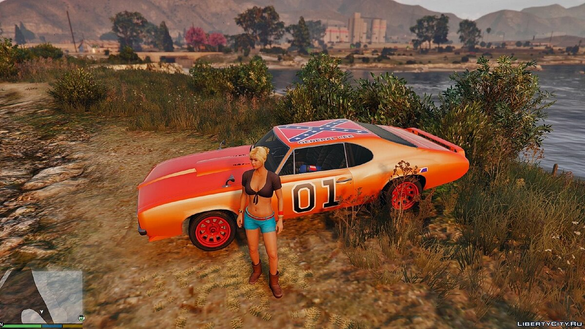 Dukes Of Hazzard для GTA 5 - Картинка #3