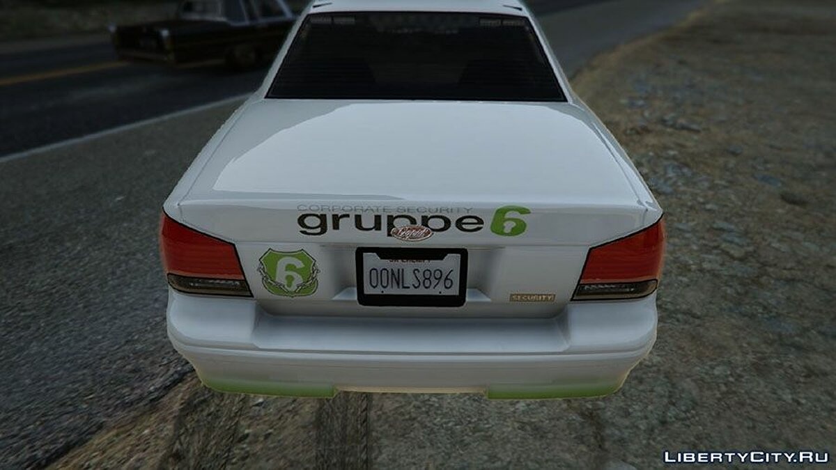 ��екстура машины [Group 6] Security vehicle v0.2 (Pack) для GTA 5
