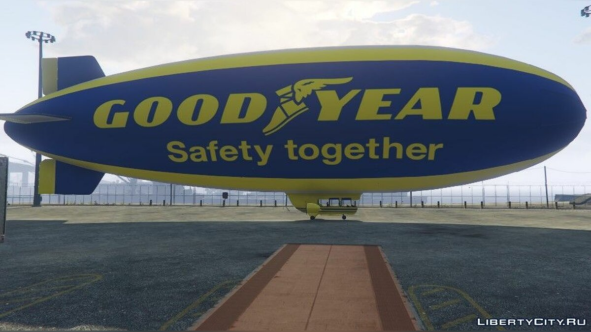 BLIMP - GOODYEAR для GTA 5