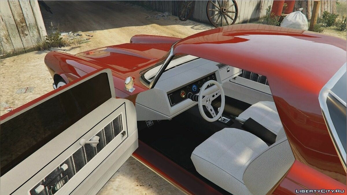 Текстура машины Retextured interior: HD Dominator & others для GTA 5