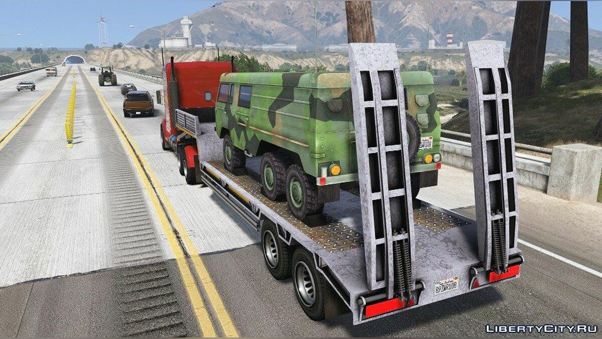 Машина Military Trailer (Replace) 1.0 для GTA 5